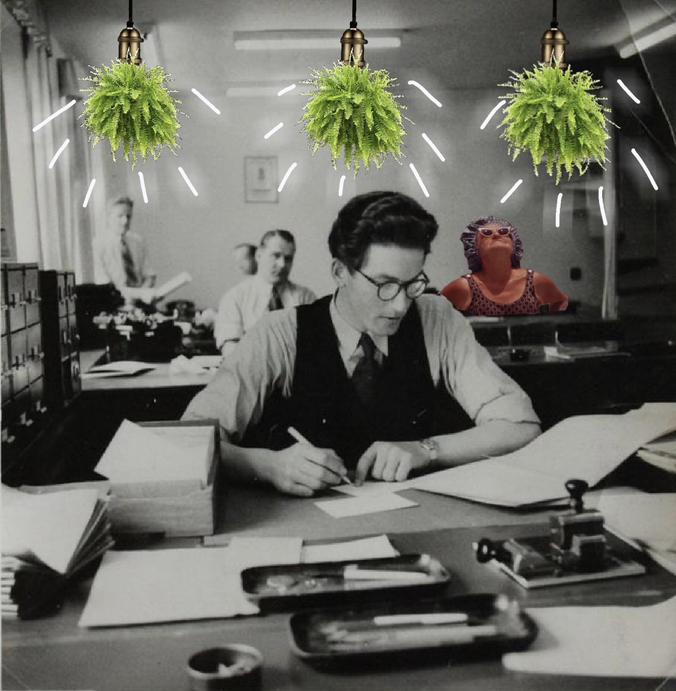 Imagen oficina vintage Fento