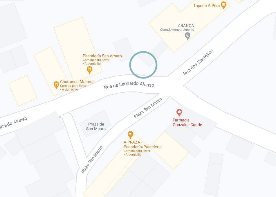 Imagen Maps Ubicación Fento